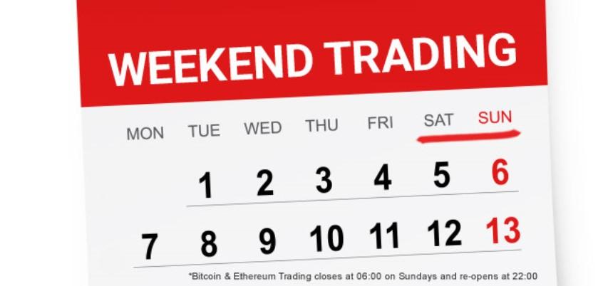 bitcoin trading la weekend