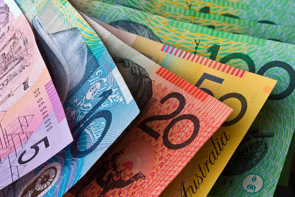 Australian Dollar Down As Rba Remains